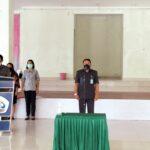 PELANTIKAN PEJABAT FUNGSIONAL DI LINGKUNGAN POLITEKNIK NEGERI NUSA UTARA oleh Direktur Politeknik Negeri Nusa Utara Prof, Dr, Ir Frans G Ijong, M.Sc