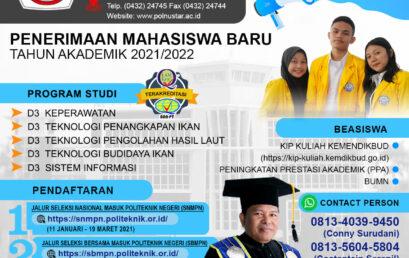 Brosur Penerimaan Mahasiswa Baru Tahun 2021/2022